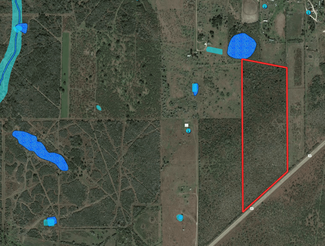35 Acre Ranch in Goliad Texas Floodplain