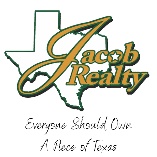 Everyone Should Own A Piece of Texas with Jacob Realty Logo